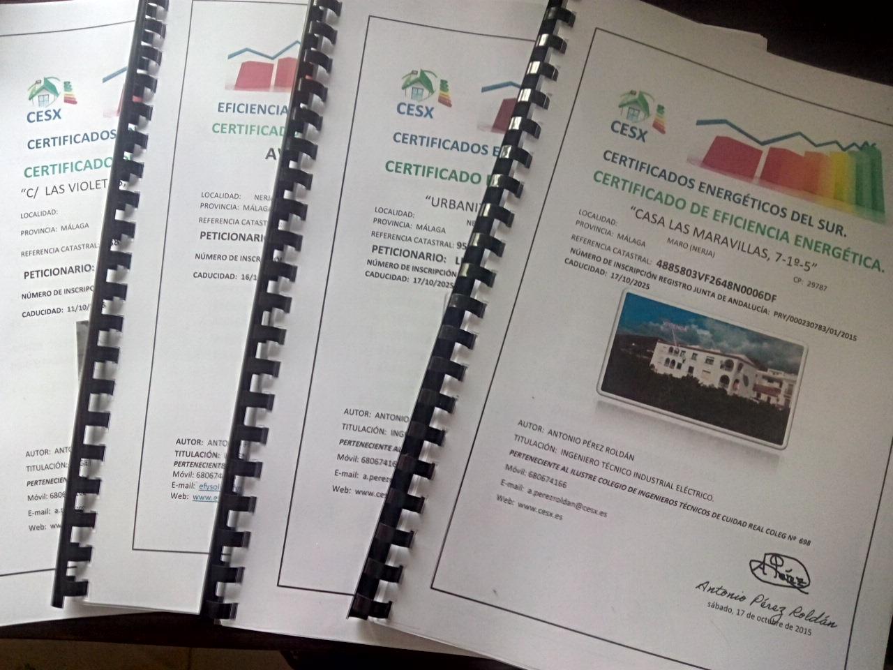 Ejemplo de documentaci n certificado energetico cordoba malaga jaen granada y sevilla - Ejemplo certificado energetico piso ...